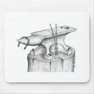 Alfombrilla De Ratón Productos del herrero y del herrador