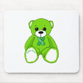 Alfombrilla De Ratón Productos del oso de peluche de la conciencia de
