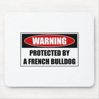 Alfombrilla De Ratón Protegido por un dogo francés