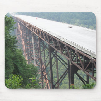 Alfombrilla De Ratón Puente de garganta de nuevo río, Virginia