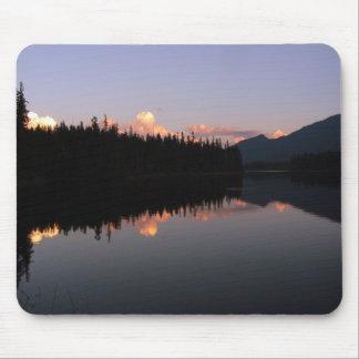 Alfombrilla De Ratón Puesta de sol a la Mosquito Lake, Columbia