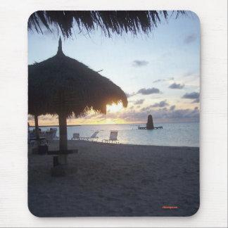 Alfombrilla De Ratón Puesta del sol de Aruba, 2006