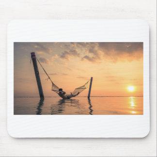 Alfombrilla De Ratón Puesta del sol de Bali