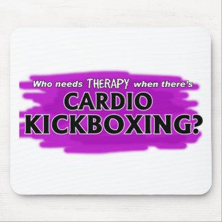 Alfombrilla De Ratón ¿Quién necesita terapia cuando hay Kickboxing