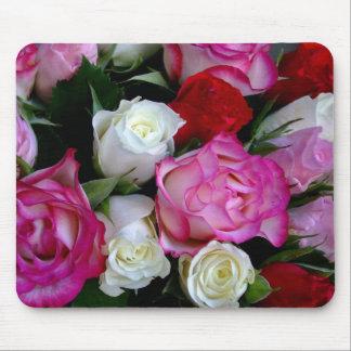 Alfombrilla De Ratón Ramo Mousepad de los rosas
