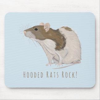 Alfombrilla De Ratón Rata encapuchada de las ratas del Agouti