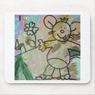 Alfombrilla De Ratón Ratas lindas del dibujo animado