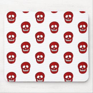 Alfombrilla De Ratón Red skulls