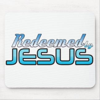 Alfombrilla De Ratón Redimido por el cojín de ratón de Jesús