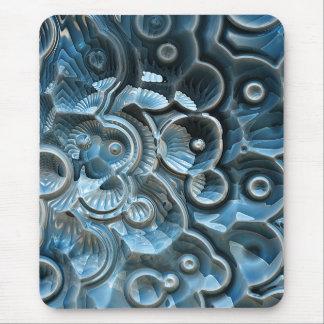 Alfombrilla De Ratón Reflexiones de un fósil del fractal