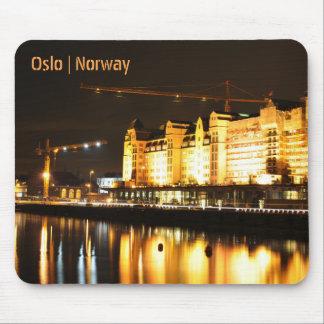 Alfombrilla De Ratón Reflexiones del agua en Oslo, Noruega