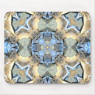 Alfombrilla De Ratón Reflexiones del azul y del oro