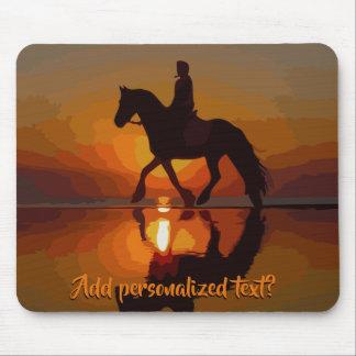 Alfombrilla De Ratón Regalo personalizado para el amante del caballo.