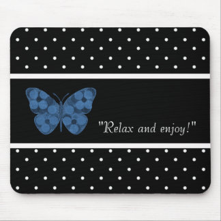 ALFOMBRILLA DE RATÓN RELAX-SELF-EXPRESSION--TEMPLATE-BUTTERFLY-PATCH