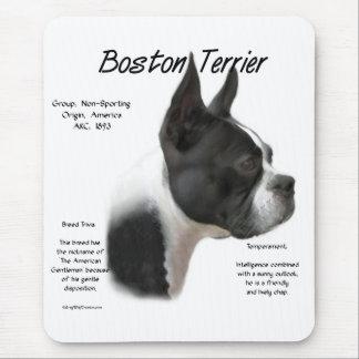 Alfombrilla De Ratón Reunión de Boston Terrier la raza