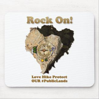 Alfombrilla De Ratón ¡ROCA ENCENDIDO! El alza del amor protege nuestros