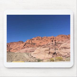 Alfombrilla De Ratón Rocas rojas y cielos azules