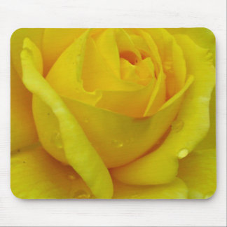 Alfombrilla De Ratón Rosa amarillo