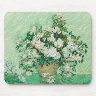 Alfombrilla De Ratón Rosas de Vincent van Gogh