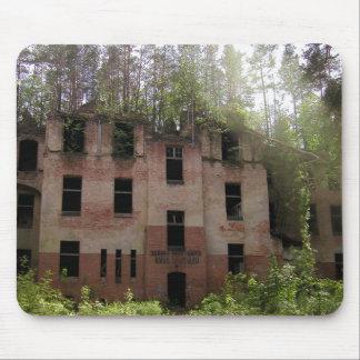 Alfombrilla De Ratón Ruina del hospital de Beelitz, Alpenhaus