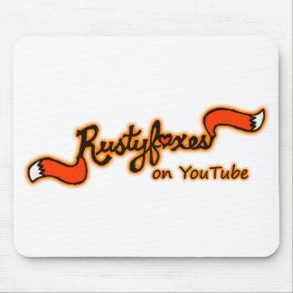 Alfombrilla De Ratón Rustyfoxes en el personalizable Mousepad del color