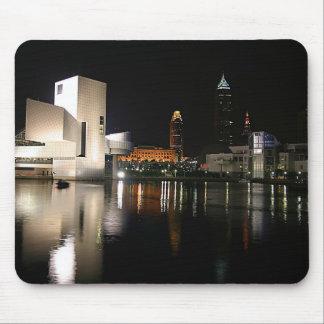 Alfombrilla De Ratón Salón de la fama Cleveland Ohio del rock-and-roll