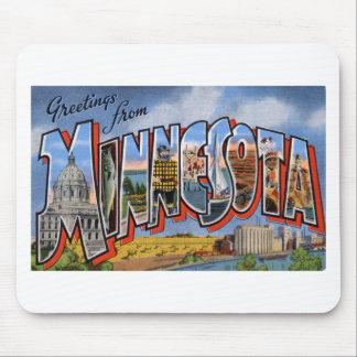 Alfombrilla De Ratón Saludos de Minnesota