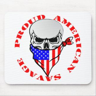 Alfombrilla De Ratón © salvaje americano orgulloso de
