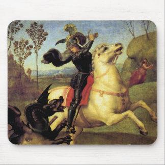 Alfombrilla De Ratón San Jorge y el dragón