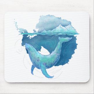 Alfombrilla De Ratón Santuario de la ballena del océano meridional