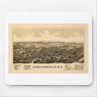 Alfombrilla De Ratón schuylerville1889