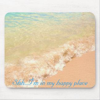 Alfombrilla De Ratón Shh… estoy en mi mousepad feliz del lugar