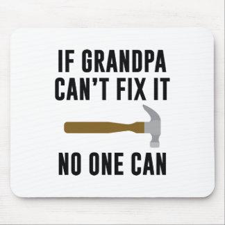 Alfombrilla De Ratón Si el abuelo no puede fijarlo