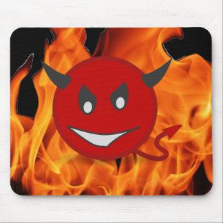 Alfombrilla De Ratón Smiley del diablo