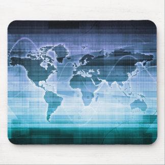 Alfombrilla De Ratón Soluciones globales de la tecnología en el