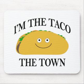 Alfombrilla De Ratón Soy el Taco la ciudad