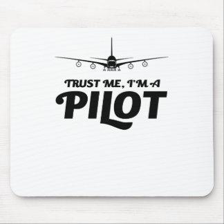 Alfombrilla De Ratón Soy piloto