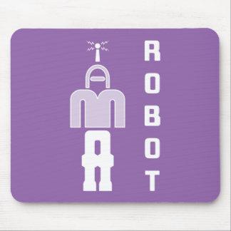 """Alfombrilla De Ratón """"SOY rompecabezas Mousepad de un ROBOT"""""""