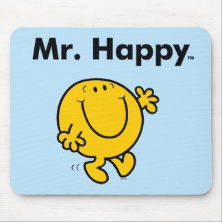 Alfombrilla De Ratón Sr. Happy Is Always Happy de Sr. Men el  