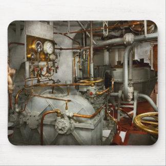 Alfombrilla De Ratón Steampunk - en la sala de máquinas
