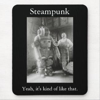 Alfombrilla De Ratón Steampunk: Sí, es un poco como ése
