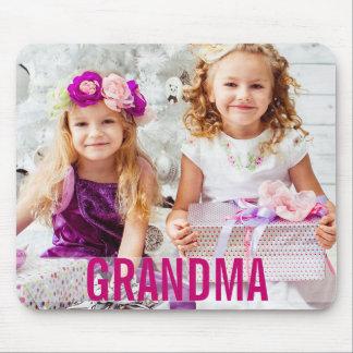 Alfombrilla De Ratón Su abuela Mousepad de la foto de los niños