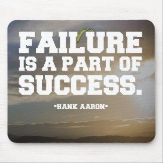Alfombrilla De Ratón Succes y cita del fracaso