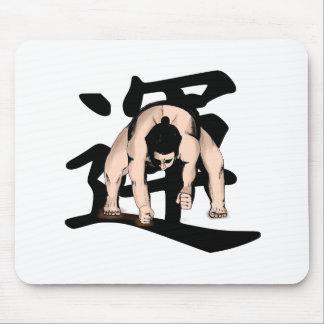 Alfombrilla De Ratón sumo-wrestling