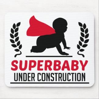 Alfombrilla De Ratón superbaby bajo construcción
