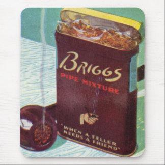 Alfombrilla De Ratón Tabaco de tubo de la mezcla del tubo de Briggs