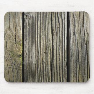 Alfombrilla De Ratón Tablero de cubierta de madera resistido rústico
