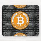 Alfombrilla De Ratón Tapete negro Bitcoin - M1b