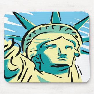 Alfombrilla De Ratón Tapete para ratón - Estatua de la Libertad - M1