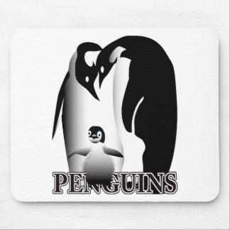 Alfombrilla De Ratón Taza del pingüino
